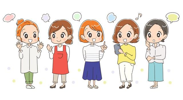 女性達の口コミ