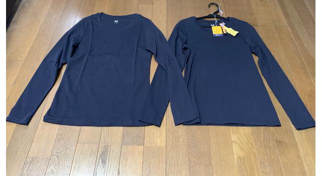 2枚のTシャツ